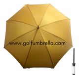"60"" Solid Golf Umbrella (Bulk 25)"