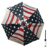 "60"" American Flag Umbrella (Bulk 25)"