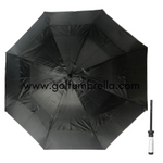 "60"" Solid Double Canopy Golf Umbrella"