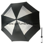 "60"" Skirted Double Canopy Golf Umbrella"