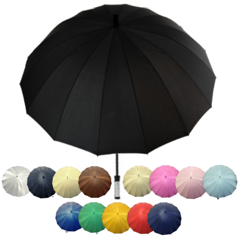 "60"" Deluxe 16 Panel Golf Umbrella"