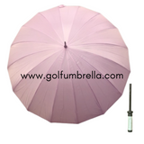 "60"" Deluxe 16 Panel Golf Umbrella (Bulk 25)"
