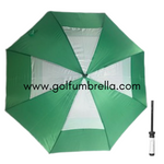 "60"" Skirted Double Canopy Golf Umbrella (Bulk 25)"