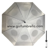 "60"" Solid Double Canopy Golf Umbrella (Bulk 25)"
