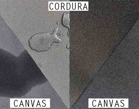 Difference between Cordura and Canvas fabric