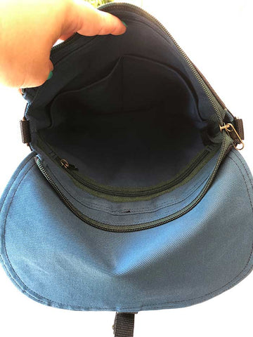 Backpack interior