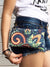 Bohemian Designer Fanny Pack, Women Mini Cross Body Bag | Aris Bags - Aris Bags