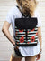 Bohemian Poppied Waterproof Backpack Cross Body Bag | Aris Bags - Aris Bags