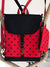 Red Black Mickey Mouse Disney Backpack and Purse | Aris Bags - Aris Bags