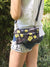 Boho Floral Fanny Pack, Vegan Belt Bag, Women Cross Body Bag | Aris Bags - Aris Bags