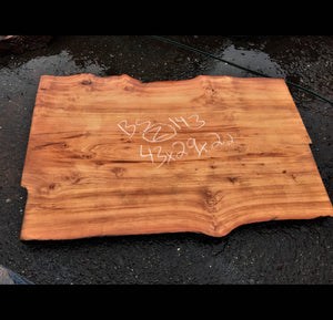 Live edge table | kitchen table | redwood  - bsz143