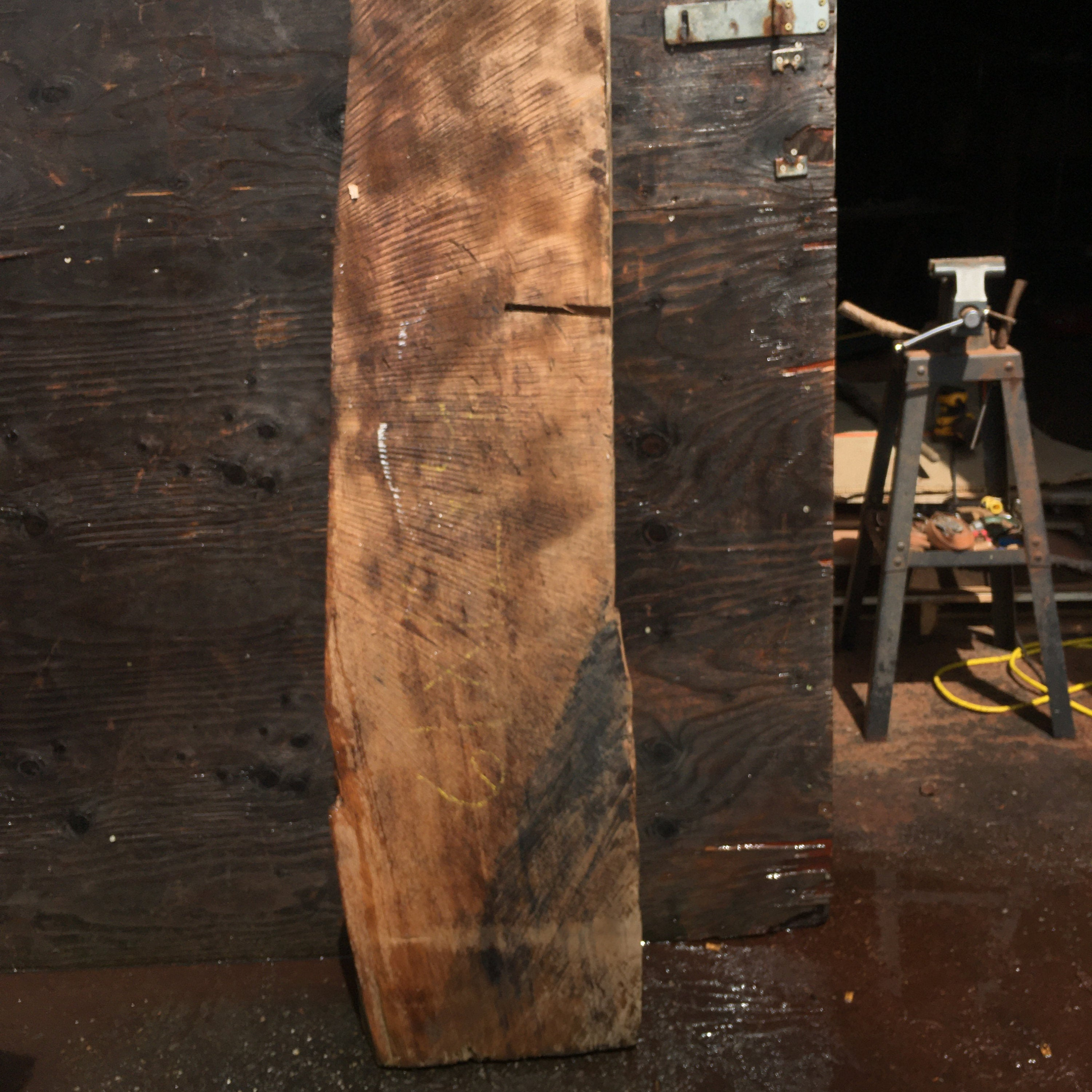 redwood slab | mantel | beam | bsz80