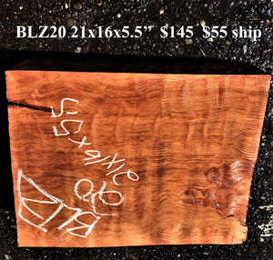Curly redwood guitar | bowl turning | craft woods | blz20