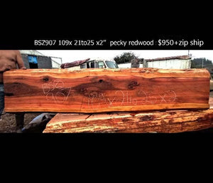 river table | live edge dining bar counter | rustic table - bsz907