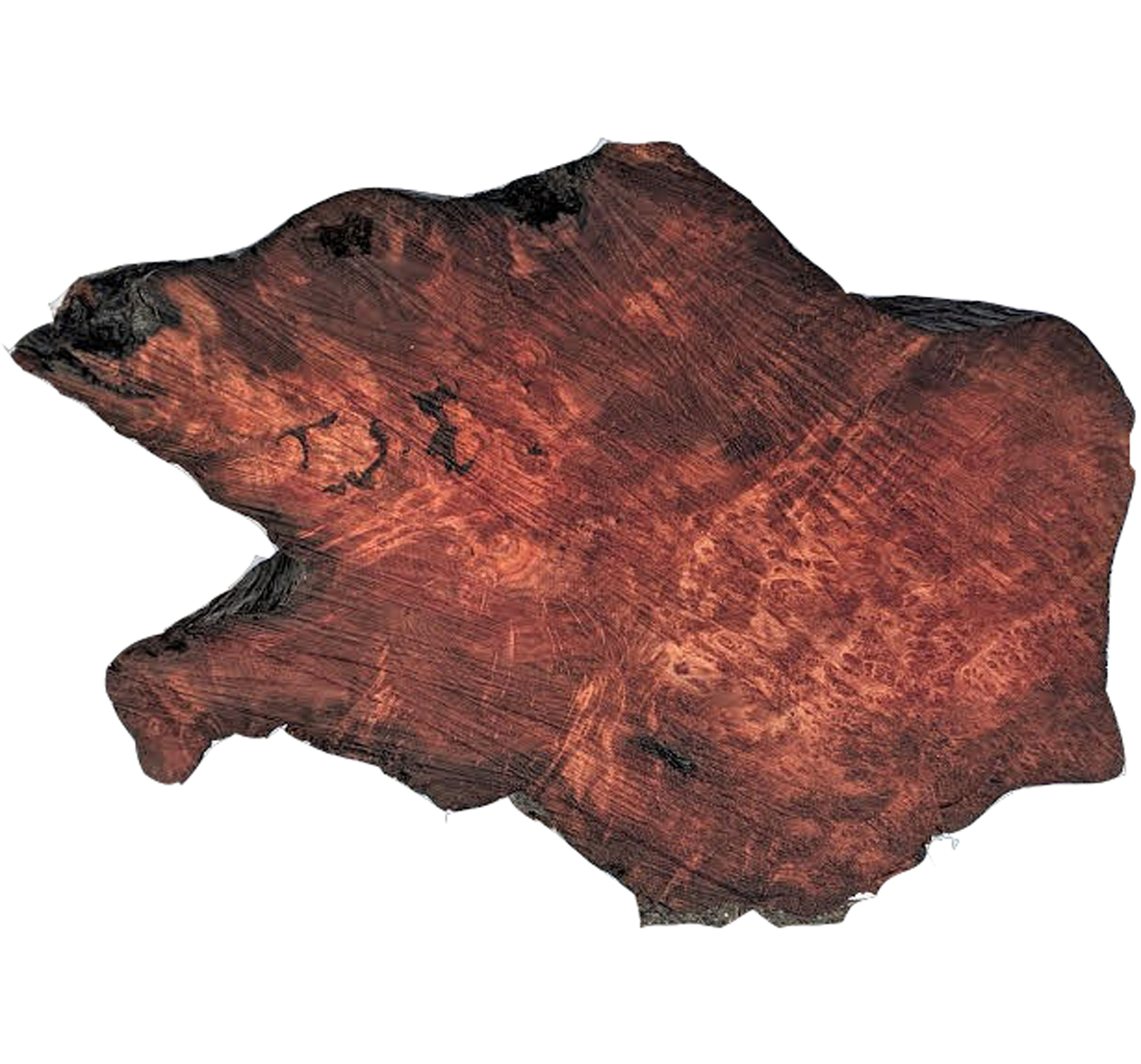 live edge slab | redwood burl |river table - bsz1354
