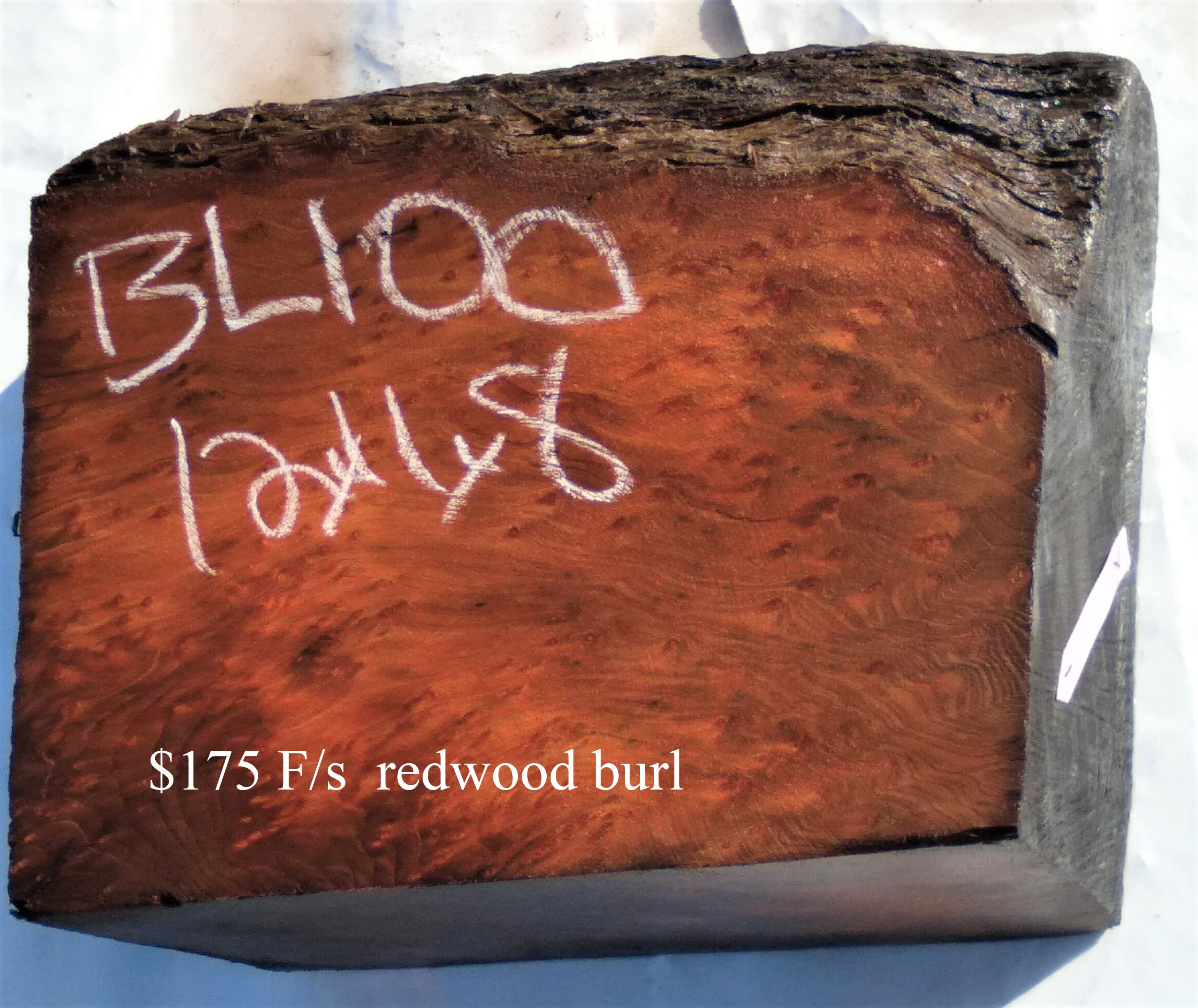 bowl turning | wood turning blank | redwood burl | craft woods | Bl100