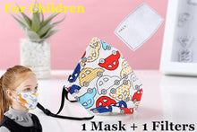 Load image into Gallery viewer, PM2.5 Cotton Adult Mouth Mask Anti Dust Mask Activated Carbon Filter Windproof Mouth-muffle Bacteria Proof Flu Face Masks