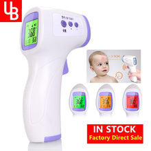 Load image into Gallery viewer, Forehead Non Contact Baby Thermometer Infrared LCD Body Temperature Fever Digital IR Measurement Tool Gun for Baby Adult
