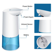 Load image into Gallery viewer, Touchless Bathroom Dispenser Smart Sensor Liquid Soap Dispenser for Kitchen Hand Free Automatic Soap Dispenser