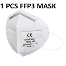 Load image into Gallery viewer, In stock!Disposable Masks 10/50 pcs Mouth Mask 3-Ply  Anti-Dust FFP3 FFP2 KN95 Nonwoven Elastic Earloop Salon Mouth Face Masks