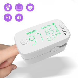 OLED/LED Pulse Oximeter Medical Portable Equipment Finger Oximeter SPO2 PR Apparatus Saturation Meter Home Heart Rate Monitor