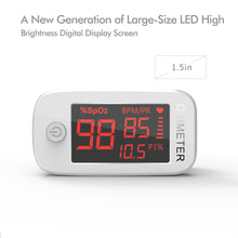 Load image into Gallery viewer, OLED/LED Pulse Oximeter Medical Portable Equipment Finger Oximeter SPO2 PR Apparatus Saturation Meter Home Heart Rate Monitor