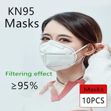 Load image into Gallery viewer, Mouth Masks KN95 N95 Anti-fog Dust-proof Breathable And PM2.5 Disposable Masks Face Mask Anti Pollution Dust Respirator
