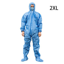 Load image into Gallery viewer, Medical Disposable Protective Clothing Suit Breathable Surgical Isolation Gown Blue Protective Coverall Hooded Boots