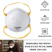 Load image into Gallery viewer, 1PC FFP2 KN95 Dustproof Three Layers Mouth Mask Filter 99% Bacteria Respirator Face Mask Breathable Mouth Nose Cover Protective
