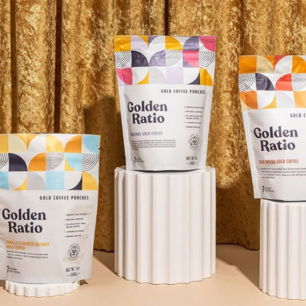 Golden Ratio Gold Coffee Pouch Variety Pack