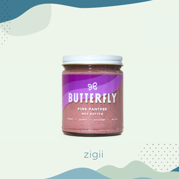 Butterfly Pink Panther Nut Butter