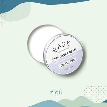 Bask 500mg Pain Relief Salve