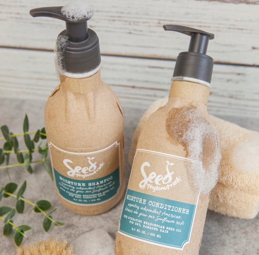 Seed Phytonutrients Moisture Shampoo and Conditioner