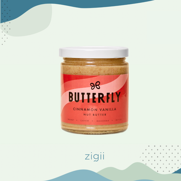 Butterfly Cinnamon Vanilla Nut Butter