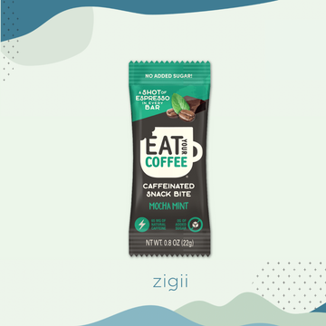 Eat Your Coffee Snack Bite in Mocha Mint