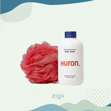 Huron Cleanse and Recharge Body Wash
