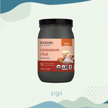 Paromi Full Leaf Organic Cinnamon Chai Tea