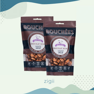 Becca's Petites Chocolate Noir Snack Mix | 2 Pack