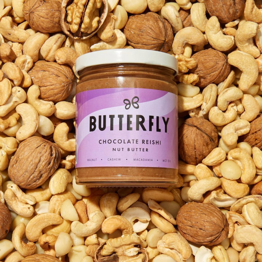 Butterfly Chocolate Reishi Nut Butter