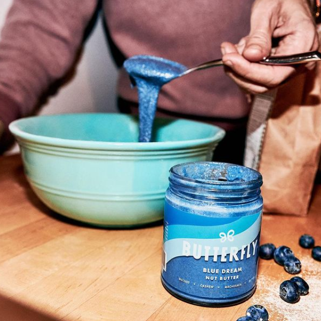 Butterfly Blue Dream Nut Butter