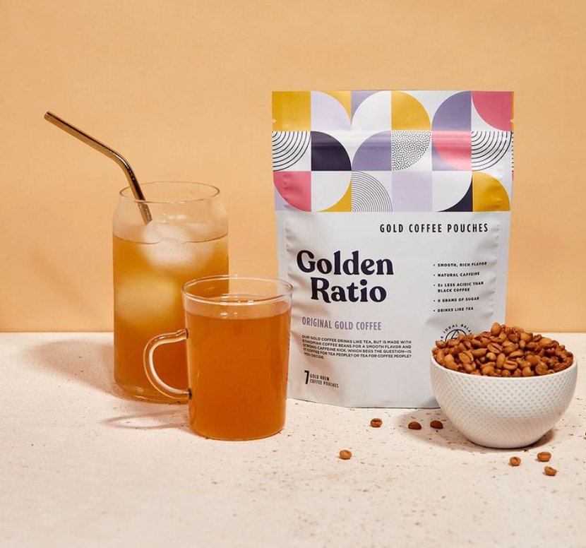 Golden Ratio Original Gold Coffee Pouches