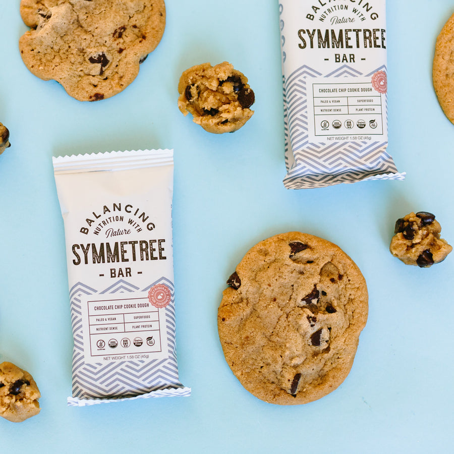 Symmetree Bar in Chocolate Chip Cookie Dough