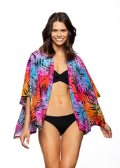 Tropical swim cover up