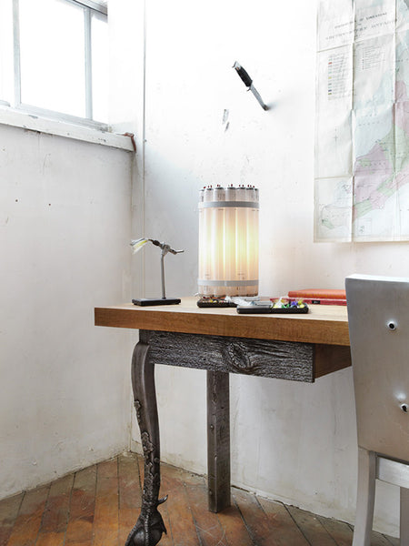 Recycled Tube Light - Table Light
