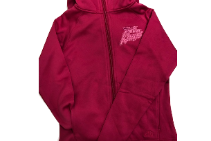Youth Girls Full Zip Hoodie