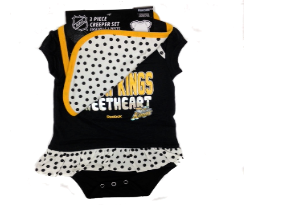 Infant Girl's 3pc Bodysuit Set