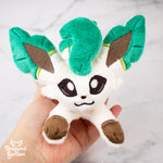 ITH Leafeon Plush Embroidery Pattern