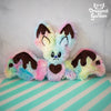 Fondant the Chocolate Rainbow Bat
