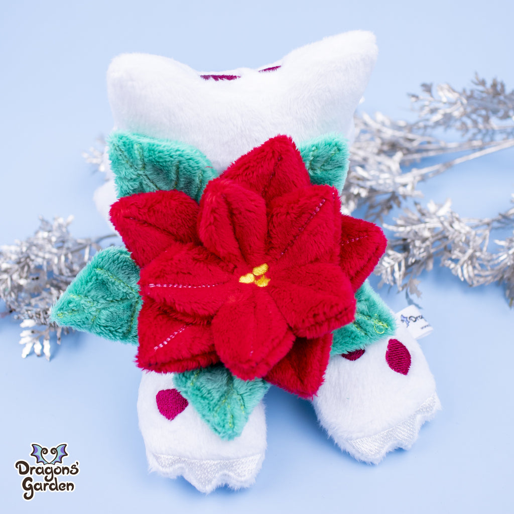Christmas Bulbasaur Plushie - Dragons' Garden