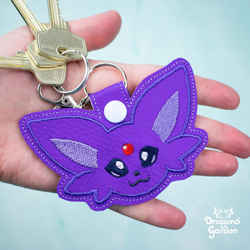 Eevelutions | Pokemon Leather Key Fob Charms - Dragons' Garden